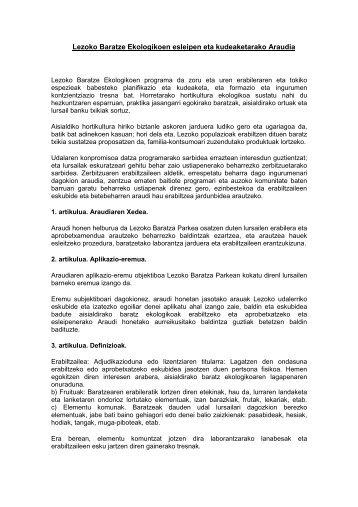 ordenantza - Lezoko Unibertsitateko Udala