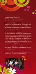 Einladung/Anmeldung GET TOGETHER PARTY ... - Westfalenhallen - Page 2