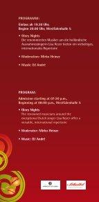 Einladung/Anmeldung GET TOGETHER PARTY ... - Westfalenhallen - Page 4