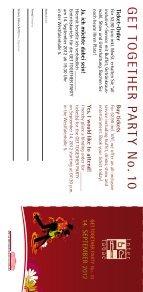 Einladung/Anmeldung GET TOGETHER PARTY ... - Westfalenhallen - Page 5