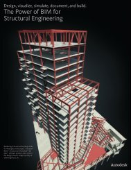 The Power of BIM for Structural Engineering - Autodesk