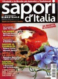 Articolo intero in PDF - Tramonti pizza