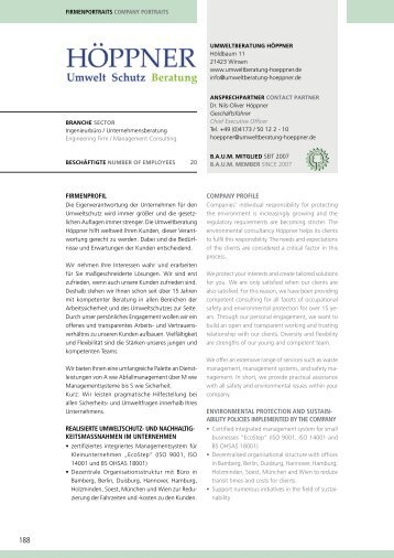 Umweltberatung Höppner - Eco World