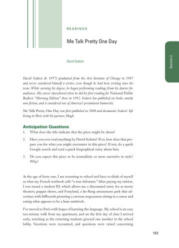 me talk pretty one day essays by david sedaris description sedaris me talk pretty one day