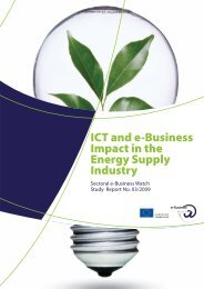 ICT and e-Business Impact in the Energy Supply Industry - empirica