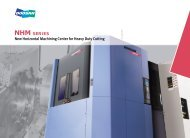 New Horizontal Machining Center for Heavy Duty Cutting