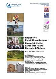 Regionales Entwicklungskonzept Zukunftsinitiative Ländlicher Raum