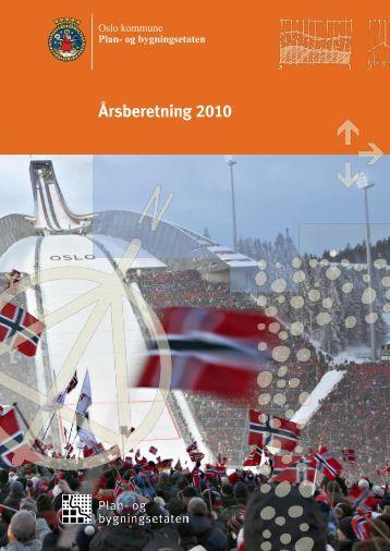 Årsberetning 2010 - Plan