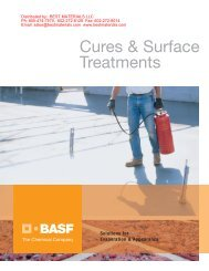 Cures & Surface Treatments - Best Materials