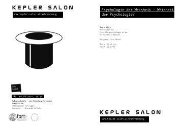 090810_Abendprogramm_Glück.pdf (512 kB) - Kepler Salon