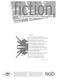 Gauntlet Fiction Supplement 2008 - The Gauntlet