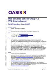WS-ServiceGroup - OASIS Open Library