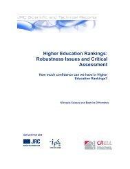 Higher Education Rankings: Robustness Issues ... - GlobalHigherEd