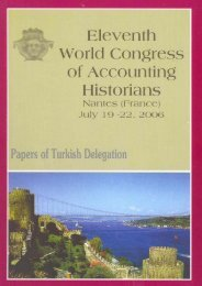 world congresses of accounting historians, 1970 –2006:an evaluation