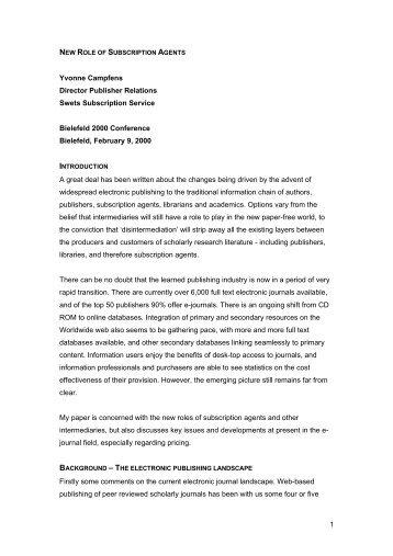 PDF-document - 10th International Bielefeld Conference