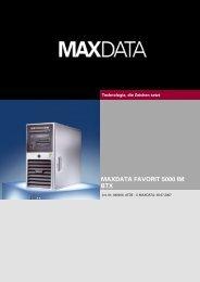 MAXDATA FAVORIT 5000 IM BTX