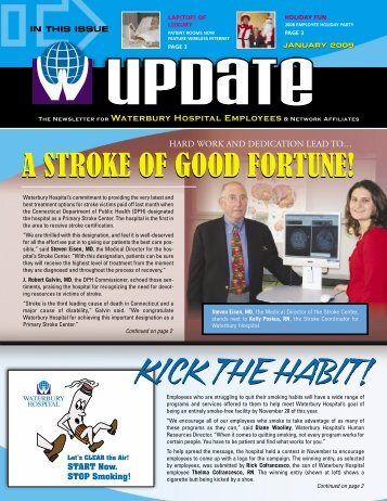 The Newsletter for Waterbury Hospital Employees & Network ...