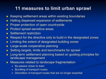 UN Habitat - 11 measures to limit urban sprawl - nrg4SD