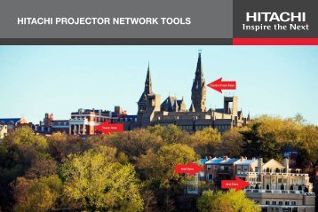 Hitachi PJ MAN Pocket Guide - Hitachi America, Ltd.