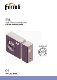 manual tehnic - RVL:Rvl.qxd - Ferroli