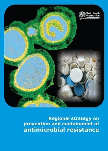 Antimicrobial resistance pdf, 1.66Mb - SEARO - World Health ...