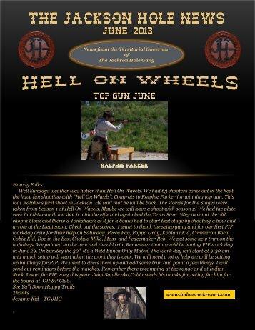 News June 2013 - Jackson Hole Gang