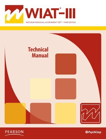 WIAT3 Tech Manual.pdf - CAMPBELA