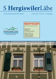 Gemeindezeitung mit Pfarreiblatt 1. Juni 2012 ... - Peter Helfenstein
