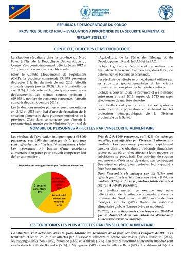 contexte, objectifs et methodologie nombre de personnes affectees ...