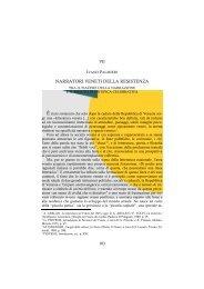 narratori veneti della resistenza - Centro Studi Ettore Luccini