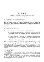 Modalità e criteri per la concessione delle sovvenzioni - Anica