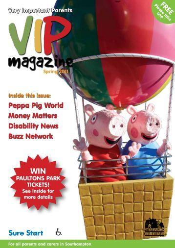 VIP Magazine Spring 2011 - Young Southampton