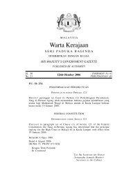 Warta Kerajaan - Kementerian Kerja Raya Malaysia