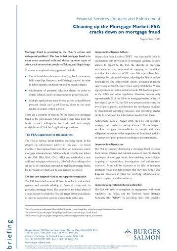 BRM0197 09 08 Mortgage fraud - Burges Salmon