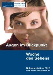 Dokumentation 2010 (766.1 kB , pdf) - Woche des Sehens