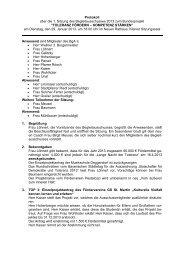 Protokoll über die 1. Sitzung des Begleitausschusses 2013 zum ...