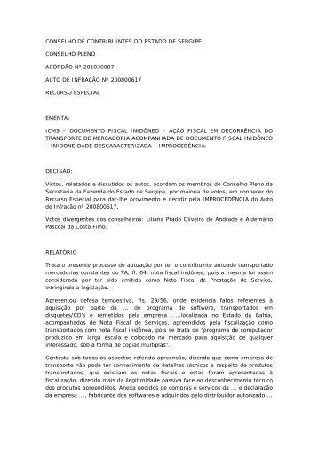 CONSELHO DE CONTRIBUINTES DO ESTADO DE ... - APET