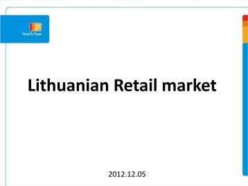 Lithuanian Retail market