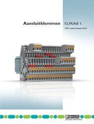 Catalogus CLIPLINE 1 2011 - Phoenix Contact