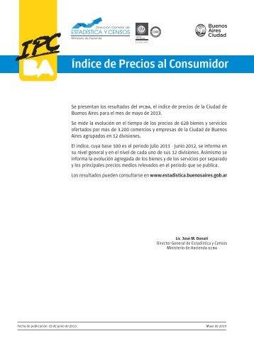 Índice de Precios al Consumidor - Buenos Aires Ciudad