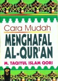 Taqiyul Islam Qori - Cara Mudah Menghafal al-Quran