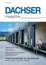 DACHSER magazin 01/08 - Dachser USA