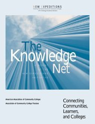 The Knowledge Net - American Association of Community Colleges