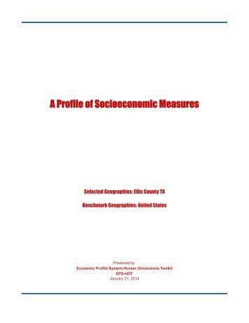 48139 - Ellis County TX Measures - Headwaters Economics
