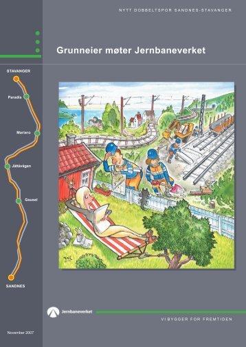 Brosjyre Sandnes 0001 - Grunneier møter JBV.indd - Jernbaneverket