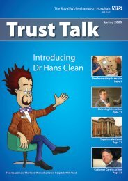 Introducing Dr Hans Clean - The Royal Wolverhampton Hospitals ...