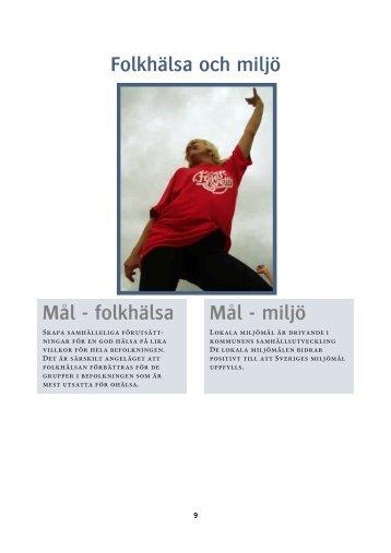 Folkhälsa och miljö.pdf - Vänersborgs kommun
