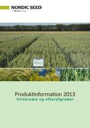 Efterafgrøder 2012 - se vores sortiment. - Danish Agro