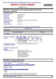 8603 ARADUR HY 917 (English (GB)) Huntsman SDS ... - AMI-CON