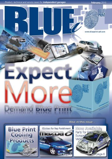 Product, Technical And Service News For Independent ... - Blue Print